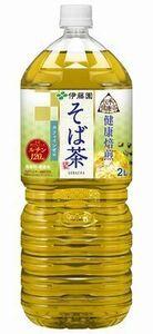 伊藤園伝承の健康茶 健康焙煎 そば茶 2Lx6本x2ケース