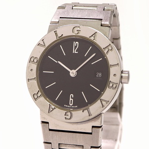 【中古】ブルガリ ブルガリブルガリ レディース 腕時計 SS クオーツ BB26 SSD