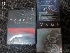 PS4 Vampyr ヴァンパイア スペシャルエディション特典 サントラCD/両面印刷ポスター/ポストカード/DLCコードセット