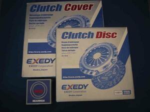 Legacy BL5 BP5 turbo 5MT clutch 3 point set Exedy EXEDY 30210AA690 30100AA883
