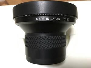 レイノックス DCR-FE180PRO デジカメ 4kビデオカメラ用 魚眼レンズ