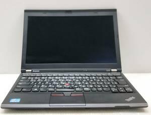 バッテリー長持ち i5-3320M 3.3Gx4/4GB■SSD128GB+HDD500GB 12.5インチノートPC Win10/Office2019Pro/DP/USB3.0■Lenovo ThinkPad X230 3