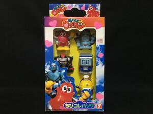 デッドストック ユタカ 燃えろロボコン ちびコレバック ソフビ フィギュア 指人形 特撮 当時もの 日本製