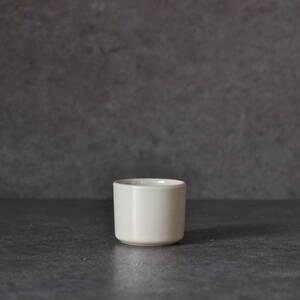 白磁筒盃 瀬戸か