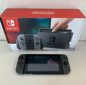 ニンテンドースイッチ本体 Nintendo Switch グレー Switch本体