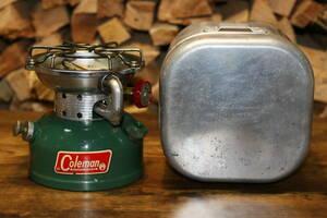 送料無料 着火テスト済 アルミクッカー付き Coleman 66年6月 コールマン 502 シングルバーナー パテペン サンシャインオブザナイト