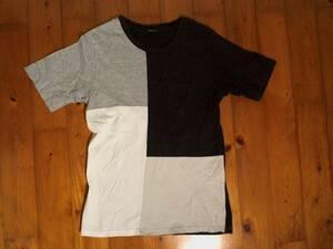 ★微難有☆コムサイズム★COMME CA ISM★半袖Tシャツ コットンTシャツ M 白 紺 グレー ベージュ