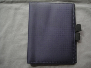 0101* round |*< book cover * navy >*.[ exhibition goods ]