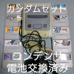 スーパーファミコン 本体+ソフト10本セット