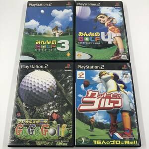 PS2 みんなのゴルフ ゴーゴーゴルフ カットビゴルフ セット