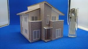☆オリジナル建築模型04☆スケール1/87 HOゲージ ジオラマ 雑貨 鉄道模型