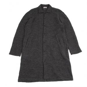 ヨウジヤマモト プールオムYohji Yamamoto POUR HOMME ウールニットロングシャツ グレー3 【メンズ】