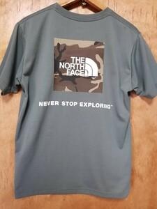 大人気カラー 売り切れ続出 ノースフェイス ショートスリーブ スクエア カモフラージュ ボックスロゴ NT32158 Tシャツ