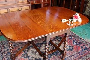 イギリスアンティーク家具 ゲートレッグテーブル バタフライテーブル テーブル ダイニングテーブル 英国製 j37