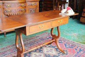 イギリスアンティーク家具 テーブル デスク ソファーテーブル バタフライテーブル 英国製 j148