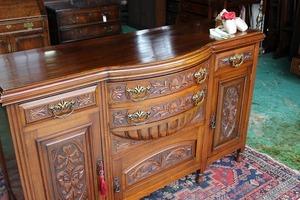 イギリスアンティーク家具 サイドボード キャビネット 英国製 j81