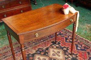 イギリスアンティーク家具 デスク テーブル コンソールテーブル 英国製 j110