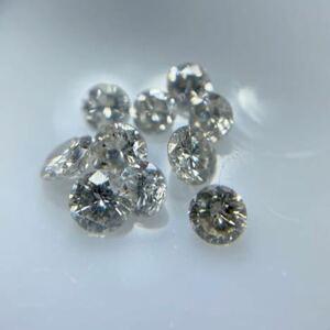 メレダイヤモンド 10Pダイヤ ルース 合計0.50ct