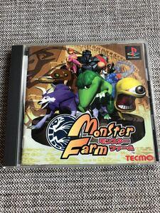 PlayStation モンスターファーム ゲームソフト プレイステーション PSソフト