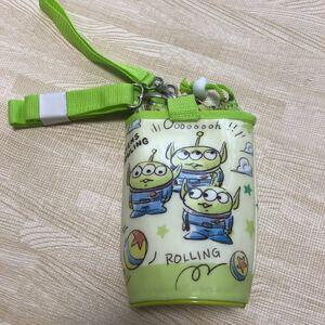 ペットボトルホルダー トイストーリー 黄緑 水筒カバー