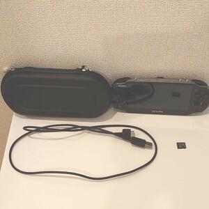 【ポーチ・メモリーカード付】PlayStation Vita PCH-1000