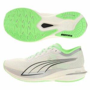 プーマ PUMA ランニング ジョギング マラソン ディヴィエイト ニトロ クール アダプト Deviate Nitro 厚底 カーボン 25.5 NIKE ADIDAS