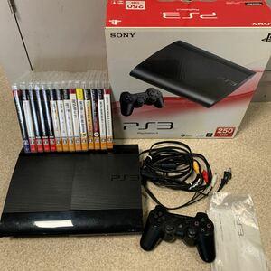 プレステ3 PS3本体 ゲームソフトセット ソニー