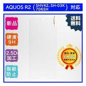 AQUOS R2 (SHV42・SH-03K・706SH)ガラスフィルム SHARP