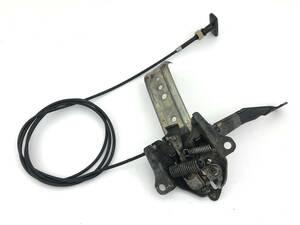 _b61180 マツダ サバンナRX-7 E-FC3S ボンネット フード キャッチ オープナー レバー ワイヤー ケーブル ロック FC3C