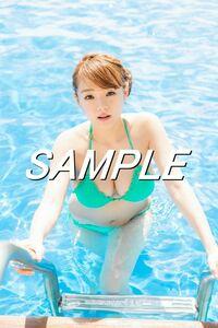 【G-02 篠崎愛】 L判写真10枚セット グラビア 水着等