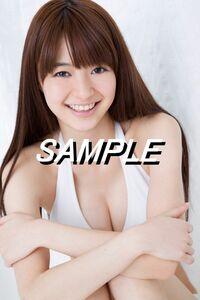 【T-02 逢沢りな】 L判写真10枚セット 女優 グラビア 水着等