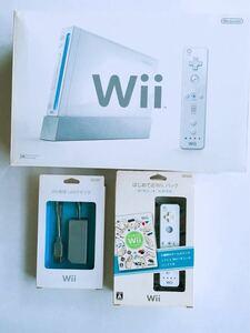 任天堂ニンテンドー Wii 本体+Wii専用LANアダプタ+はじめてのWiiパック