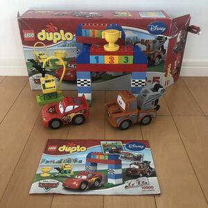 レゴ デュプロ カーズ ディズニー ピクサー 10600 クラシックレース 中古 知育玩具 ブロック LEGO Cars Disney PIXAR