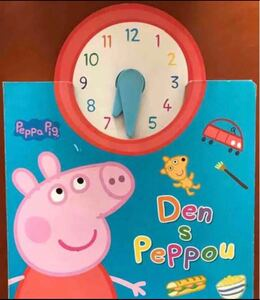 英語絵本 ペッパピッグ Peppa Pig  時計 ボードブック