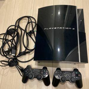 PlayStation3 初期型 80GB 箱あり プレステ3 PS3 本体 ソフト メタルギア ドラクエ ウイイレ すぐ遊べる