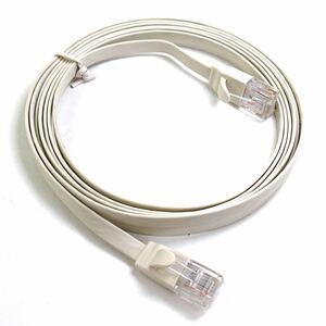 ELECOM LANケーブル エレコム超高性能LANケーブル 2m フラットタイプ CAT6E