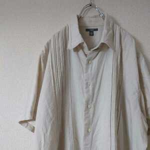 古着 半袖シャツ リネンシャツ LNEN apt9 /N5089
