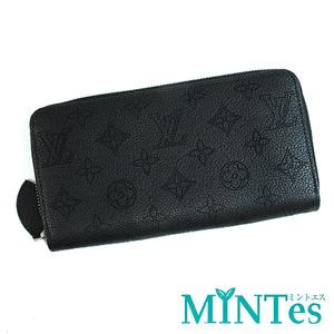 Louis Vuitton ルイヴィトン マヒナ ジッピーウォレット ラウンドファスナー長財布 M61867 ノワール レディース 女性 ブラック 黒