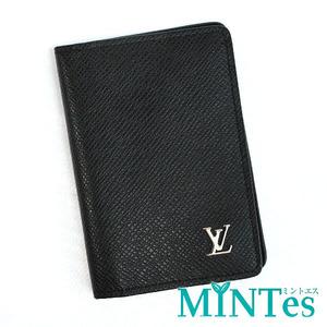 LOUIS VUITTON ルイヴィトン タイガ オーガナイザードゥ ポッシュ カードケース M30283 ノワール ブラック 黒 パスケース 名刺入れ 人気