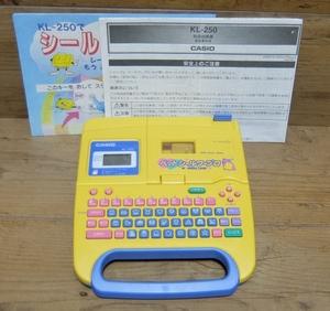 カシオ ネームランド KL-250 送料無料