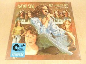 キャロル・キング Her Greatest Hits 復刻LP未開封 Carole King グレイテスト・ヒッツ Best ベスト Songs Of Long Ago It's Too Late