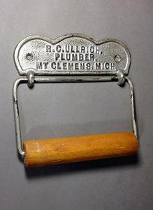 1900's USA アンティーク トイレットペーパー ホルダー/ビンテージ/ランプ/o.c.white/カントリー/ドアノブ/店舗什器/照明/鏡/シャビー/家具