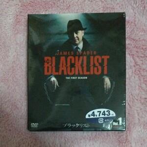 ブラックリスト シーズン1 BOX Vol.1 ジェームズスペイダー