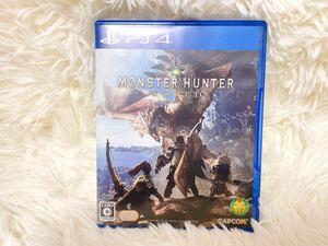 モンスターハンターワールド PS4 MONSTER HUNTER WORLD