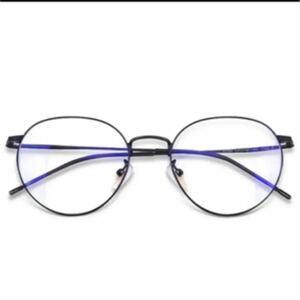 ブルーライトカット メガネ pcメガネ UVカット ウェリントン パソコン用 メガネ 紫外線カット