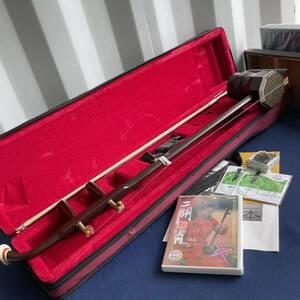 二胡 弦楽器 二胡弓 網模様 専用ケース、予備弦、入門DVD付き