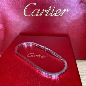 激レア!CARTIER ブレスレットK18 ホワイトゴールド リング 指輪 750 カルティエ