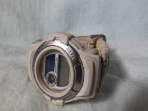 不動(電池交換必要か修理必要) 日本製・カシオ男性用時計・G-SHOCK GT-003