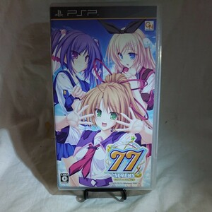 PSP 77(セブンズ) beyond the Milky Way 動作確認済み PSP