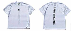 新品 バスブリゲード 【 ドライビッグTシャツ / ホワイト M 】 SHIELD BB DRY BIG TEE BRDG バスフィッシング デプス drt2107